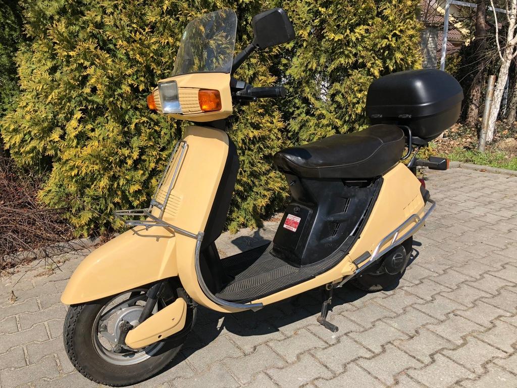 Honda Lead Skuter 50 Ccm Retro Oldschoola 7515063595 Oficjalne Archiwum Allegro