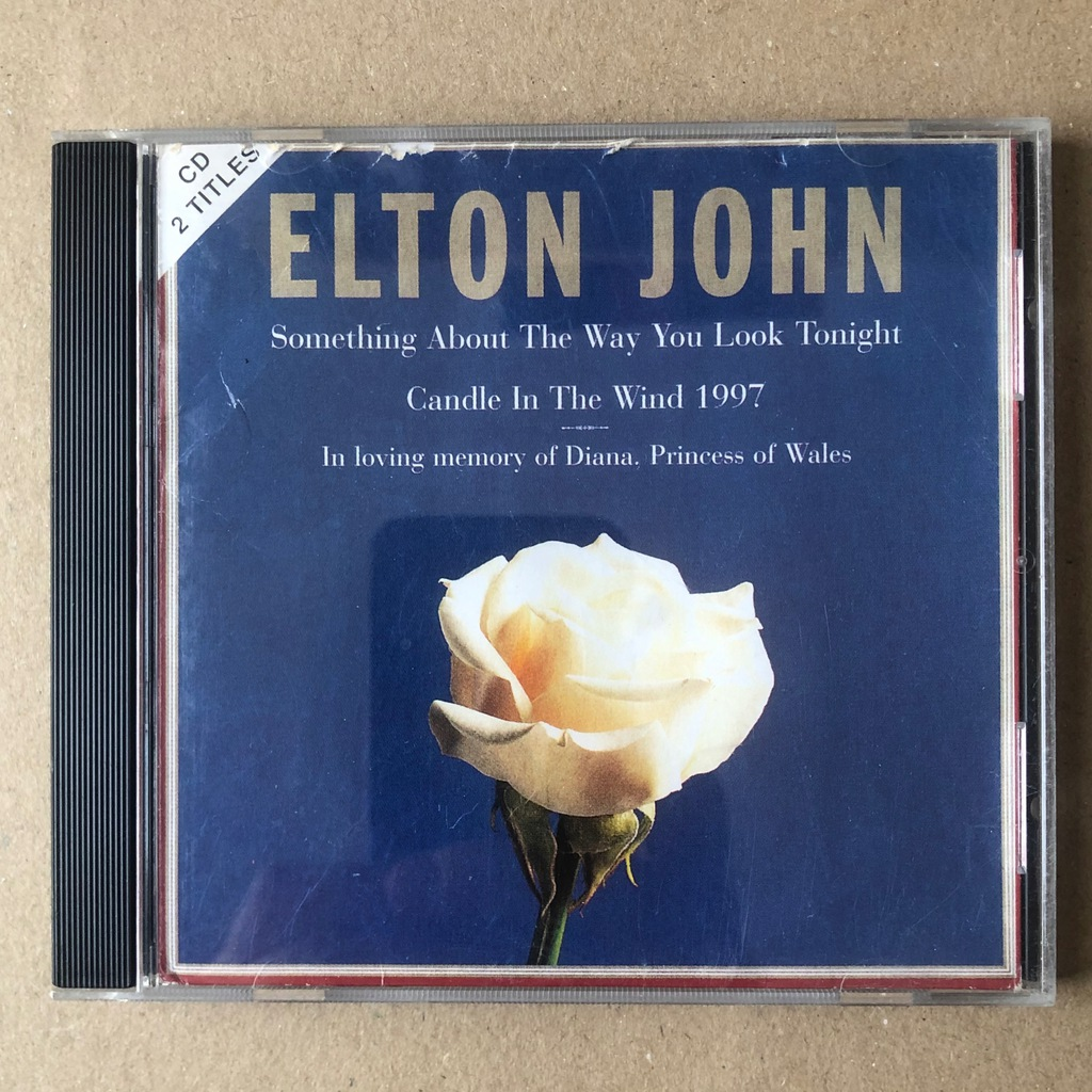 Elton John Something About The Way You Look 1997CD