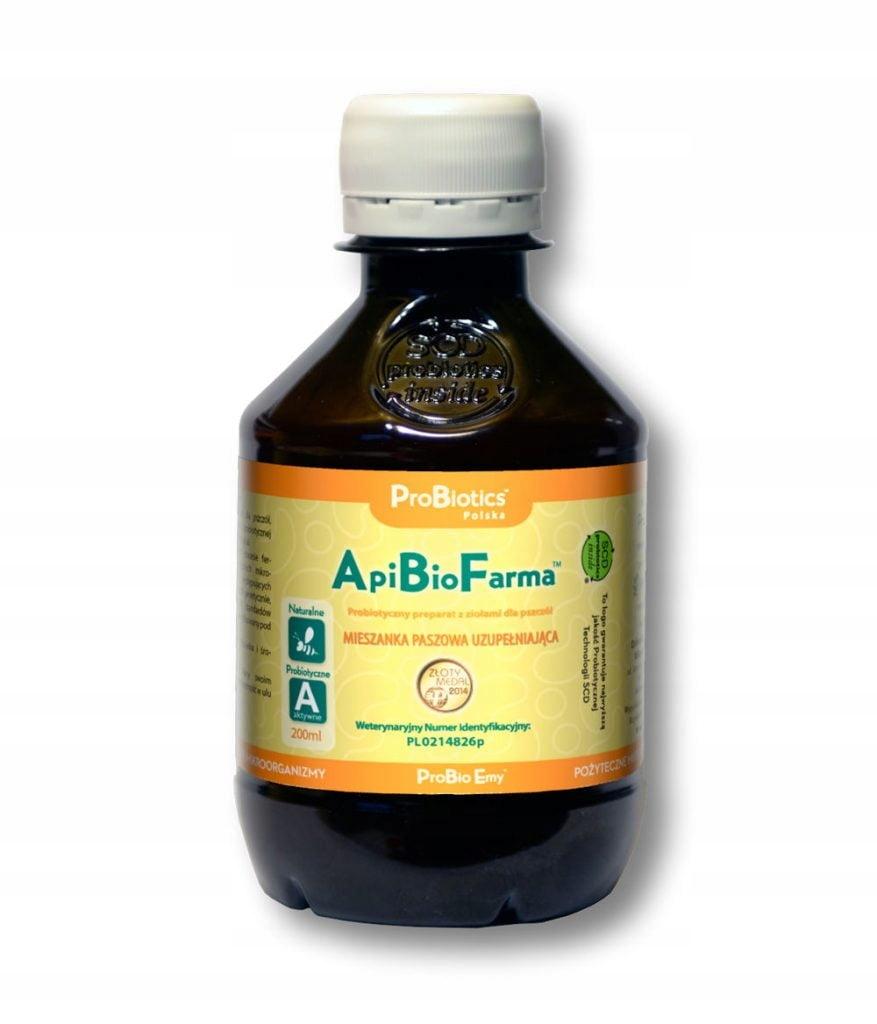 ApiBioFarma - probiotyki z ziołami - 200 ml