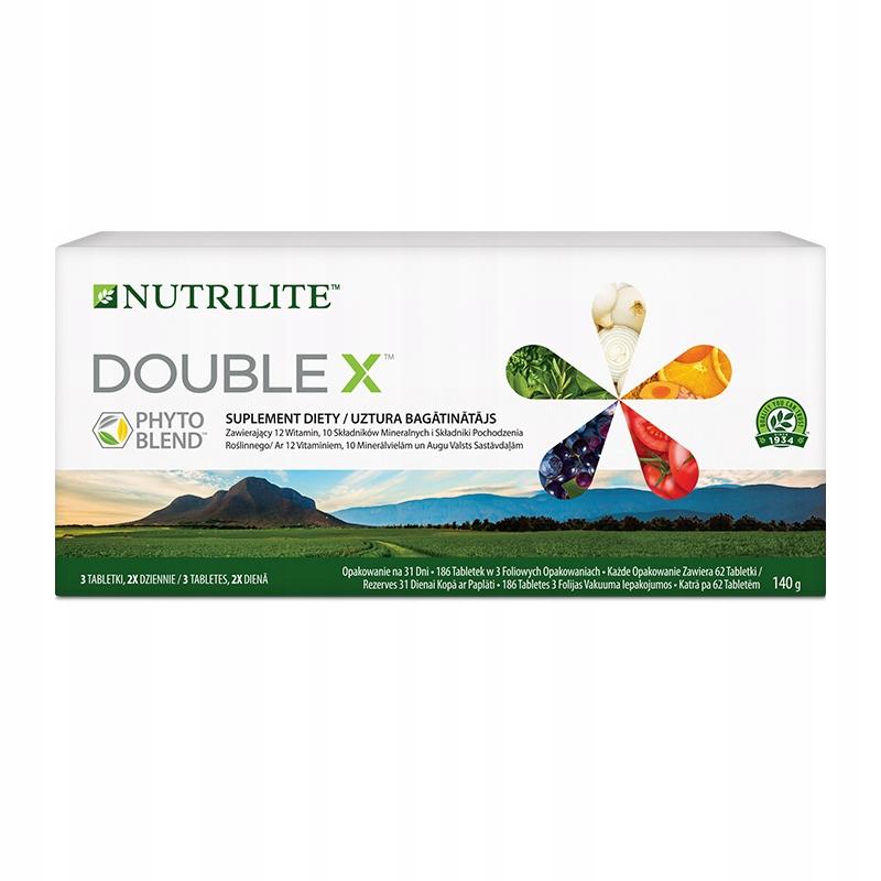 NUTRILITE Amway DOUBLE X opakowanie na 31 dni