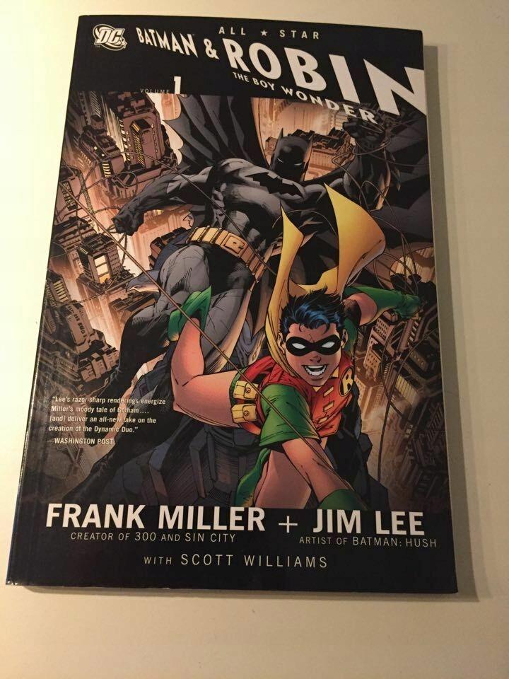 All Star Batman and Robin Boy Wonder TPB Jim Lee