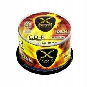 Extreme CD-R 700MB x52 - Cake Box 50