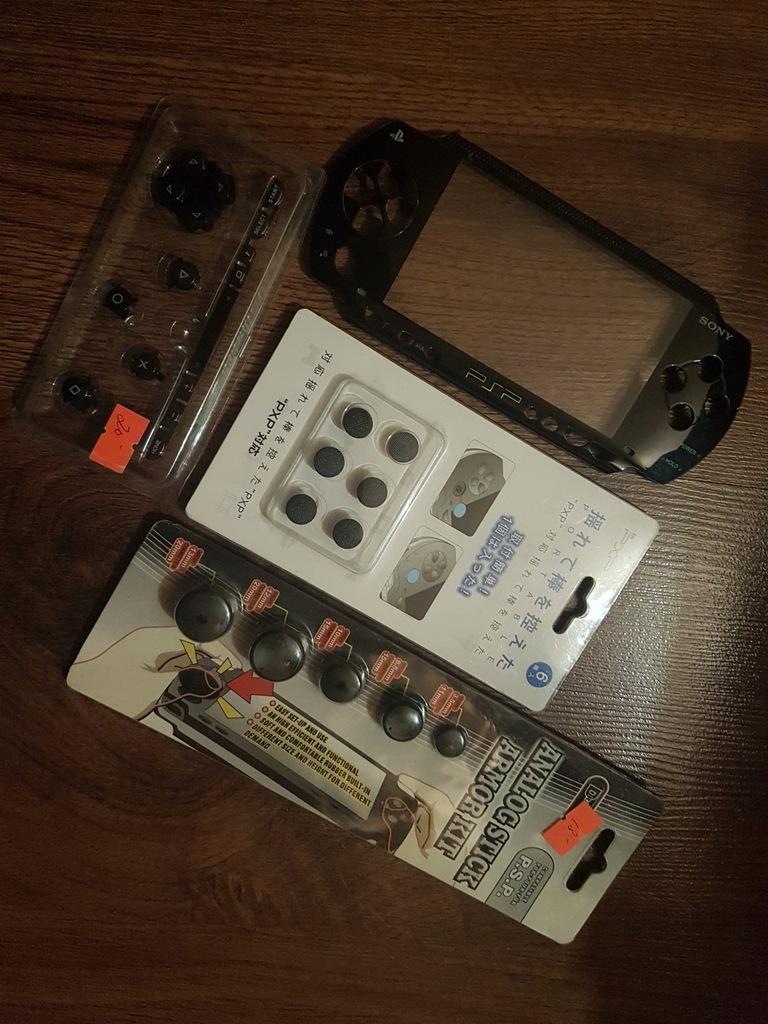 CZĘŚCI DO KONSOLI PSP przyciski, przedni panel