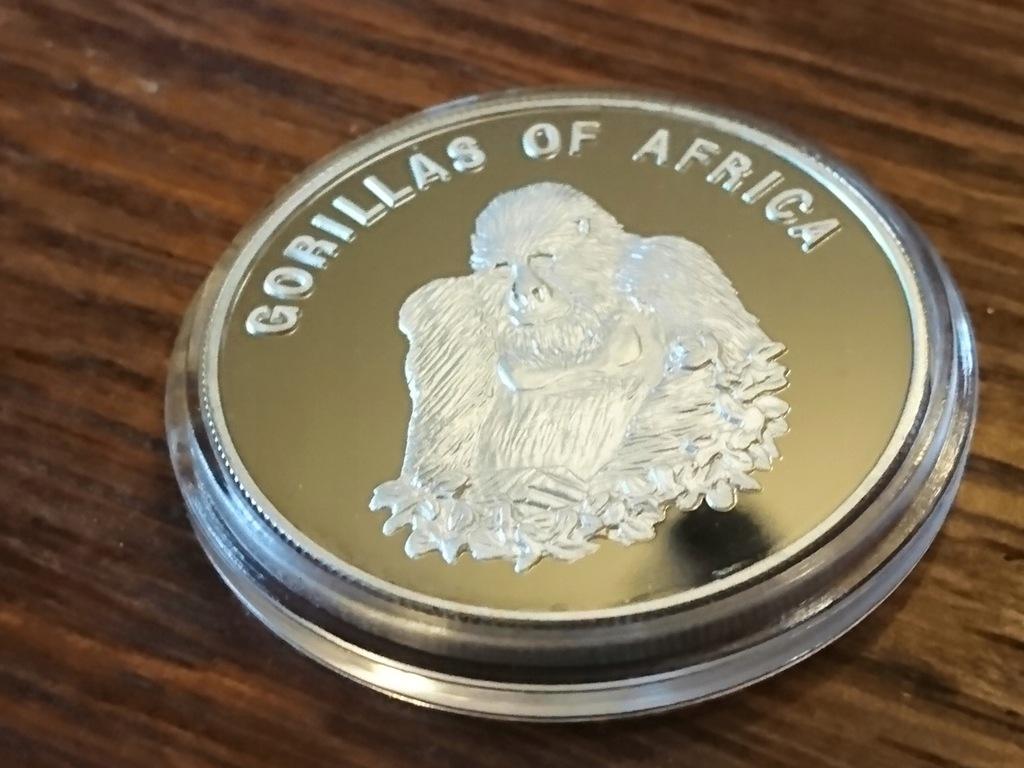 UGANDA 2003 - 1000 szylingów - GORYL 1