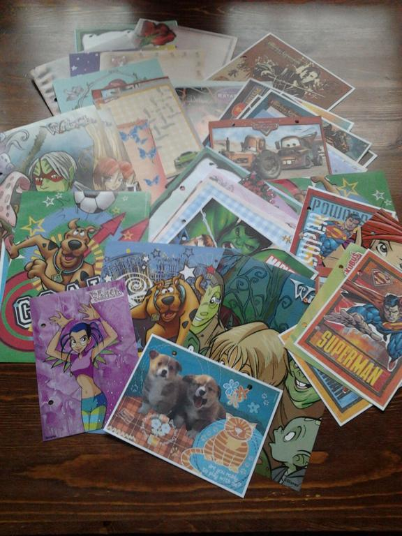 Karteczki 60 sztuk :)