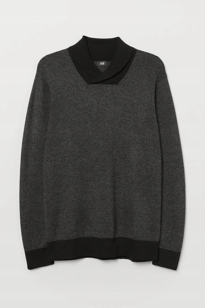 H&M Ciepły Sweter ze stójką M Bluza