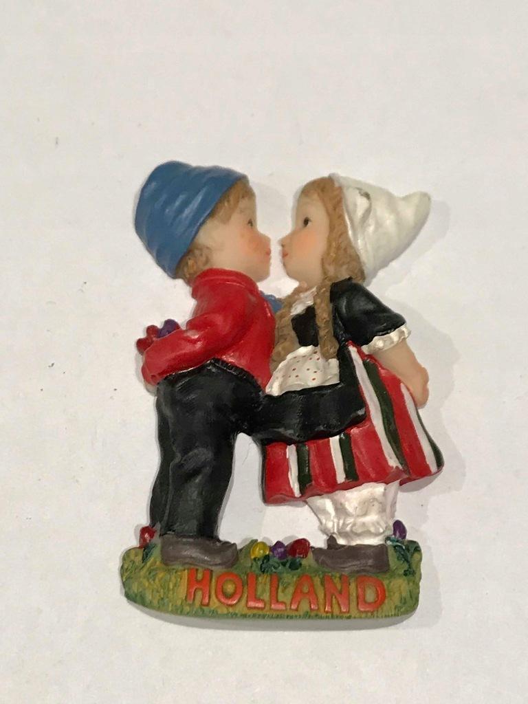 Magnes lodówkę magnez Holandia Holland para ludowa