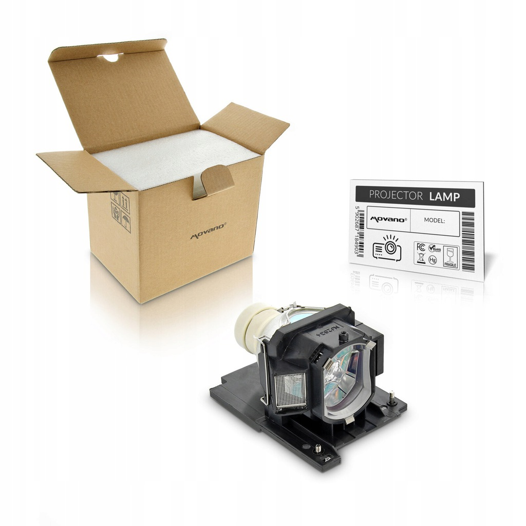 |Movano| Lampa UHP 210/140W do Hitachi HCP-3580X