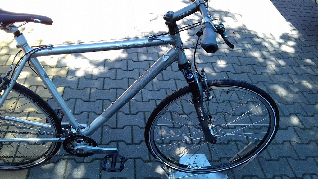 TREK 7 na DEORE LX limit cross 7 SLR !!!