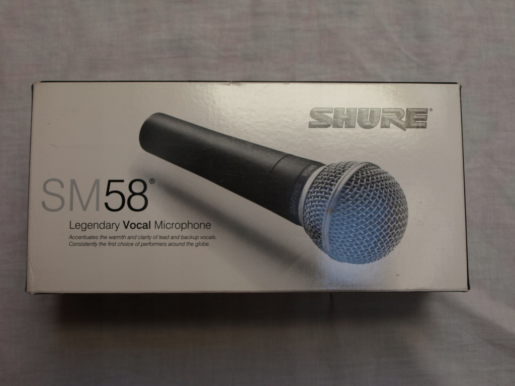 Mikrofon Shure SM 58 gwarancja 6 miesięcy