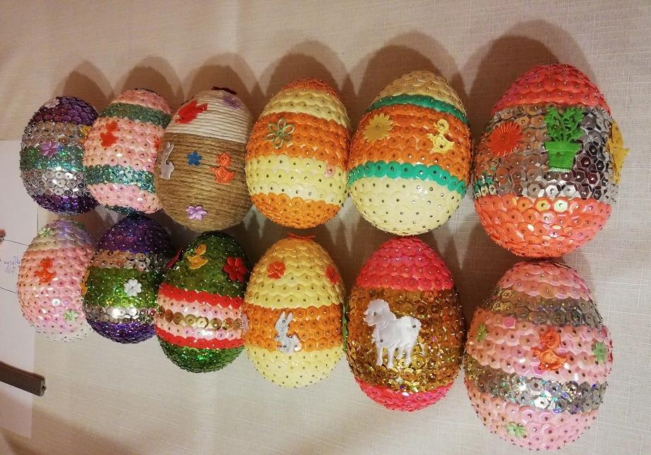 Ozdoby Wielkanocne Jajka Srednie 10 Cm Wysokosci 7861854055 Oficjalne Archiwum Allegro