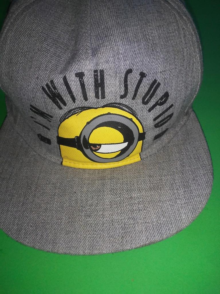 H&M czapka z daszkiem 100 % COTTON uniwersalna