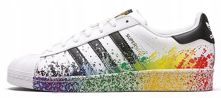 ADIDAS SUPERSTAR LGBT D70351 RAINBOW HIT R. 39 13