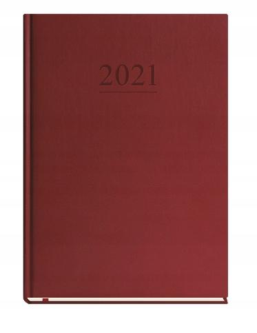 Kalendarz książkowy A4 Uniwersalny 2021