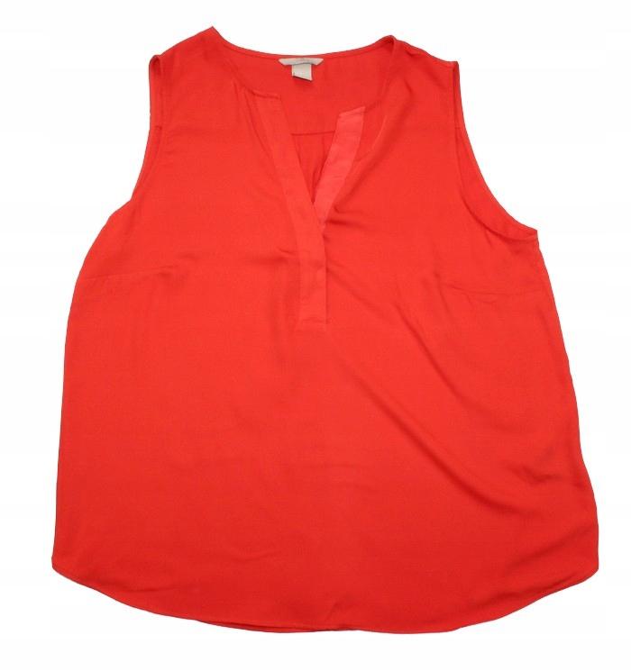 2012J22 H&M bluzka głęboki kolor 46 XXL