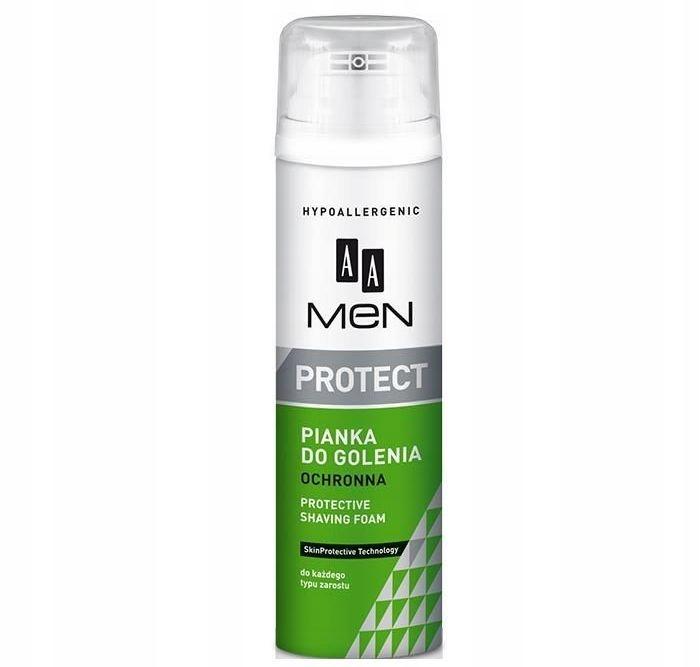 AA Men Protect Protective Shaving Foam ochronna pi