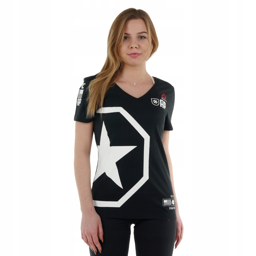 Koszulka Reebok Combat UFC Pettis damska t-shirt S