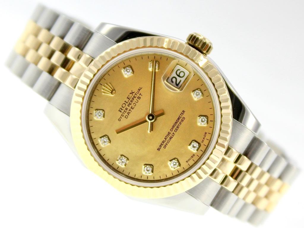 Damski Rolex Oyster Perpetual Datejust 18k Stal 8784396894 Oficjalne Archiwum Allegro