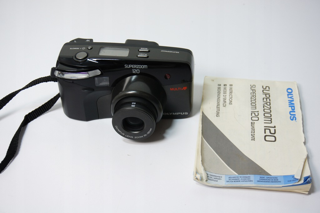 Aparat Fotograficzny Olympus Superzoom 120