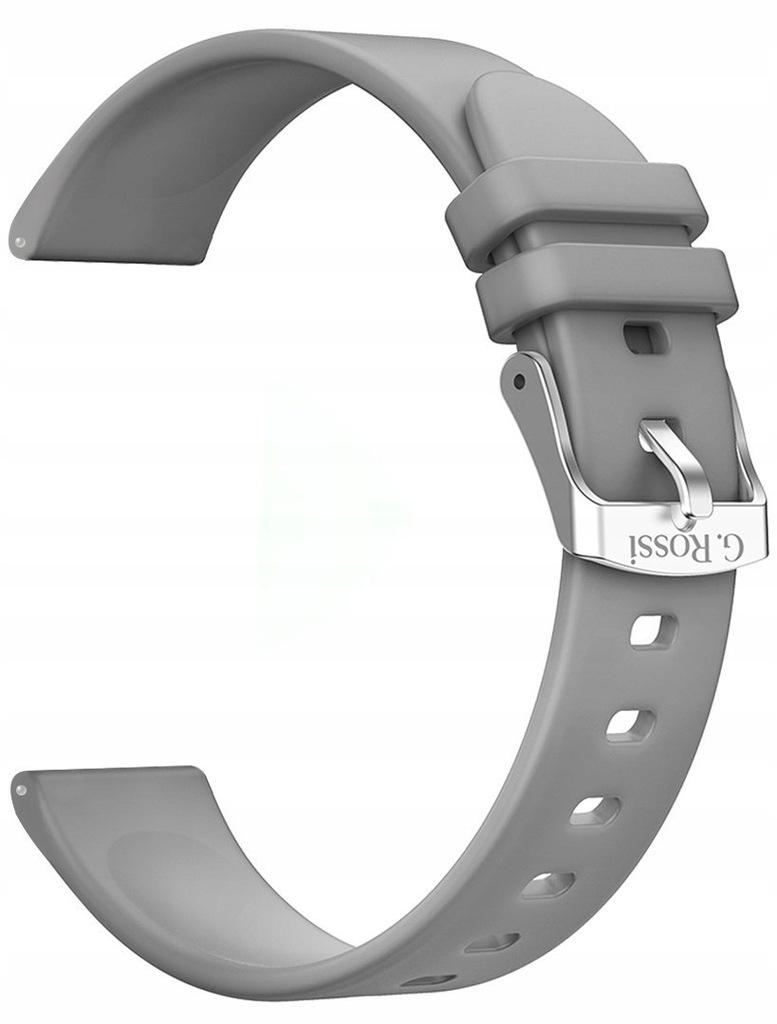 Pasek silikonowy do Smartwatch Gino Rossi SW09 SZA