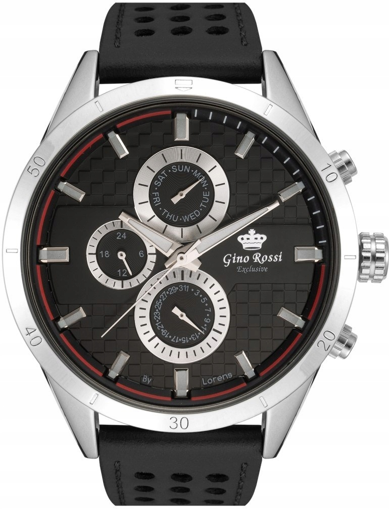 Zegarek Męski Gino Rossi Exclusive Chronograf E114