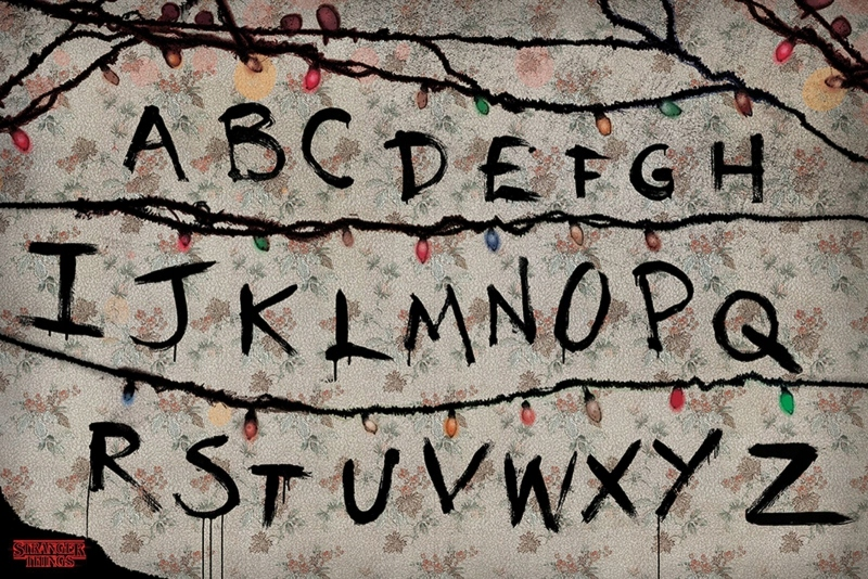 Stranger Things R, U, N - plakat 91,5x61