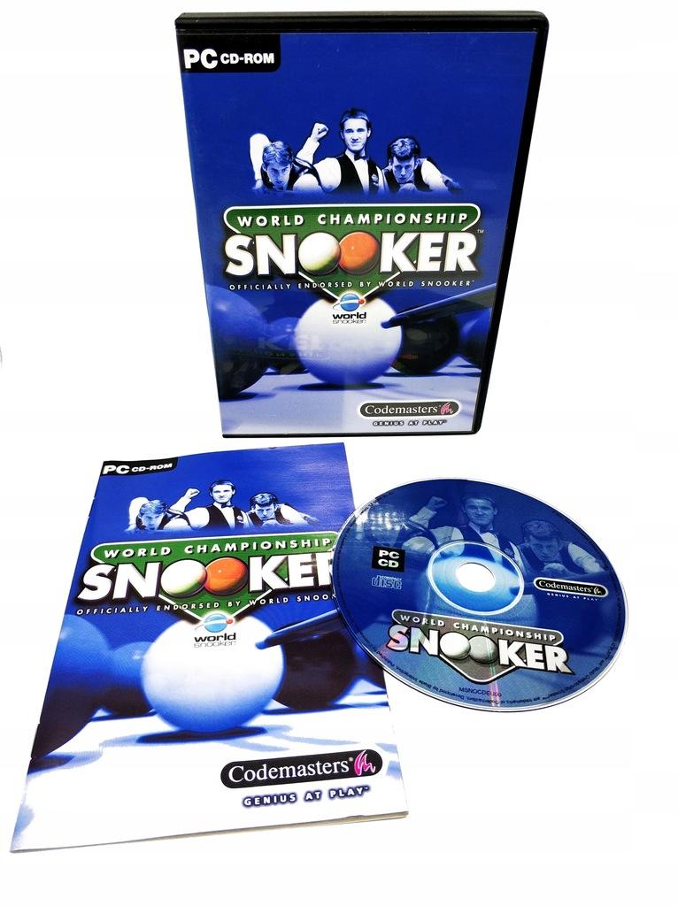 World Championship SNOOKER PC