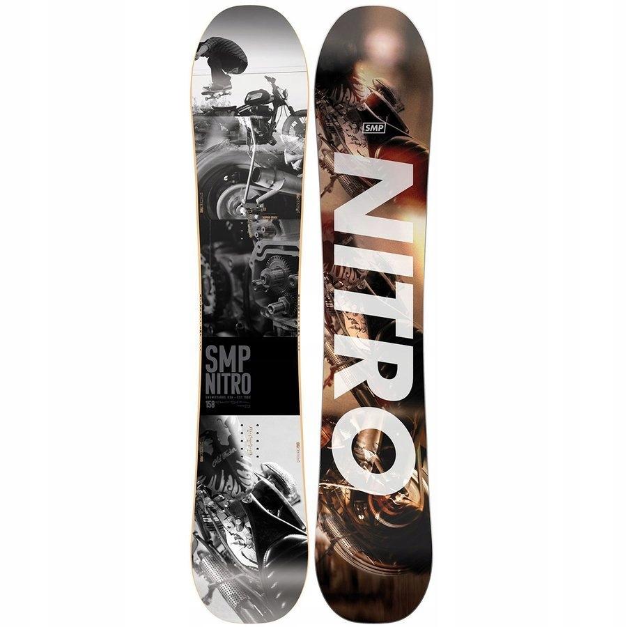 Deska snowboardowa NITRO SMP 2020 z 1800PLN 158