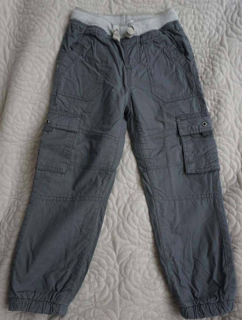 Spodnie zimowe ocieplone polarem CoolClub SMYK 116