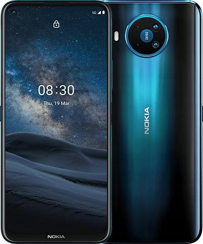 Nokia 8.3 5G Blue + Power Earbuds + Case