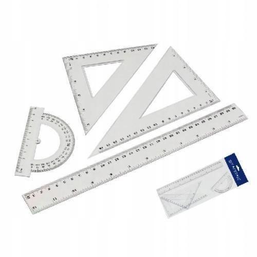 Zestaw geometryczny 4 elementy 30cm