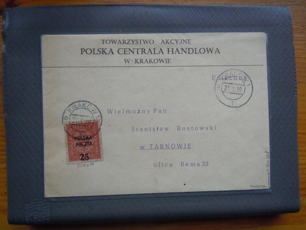Krakowskie Fi. 38 na Liście Obieg Gwar. Opis PZF