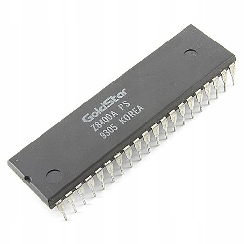 [3szt] Z8400APS GOLDSTAR [Z80A] CPU UPC 8Bit Ics u
