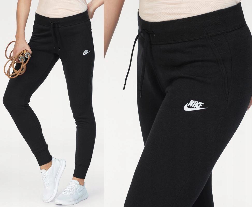 spodnie nike damskie czarne