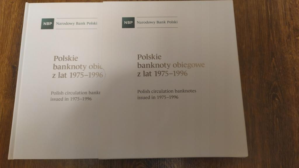 Album klaser na Polskie banknoty obiegowe 75-96