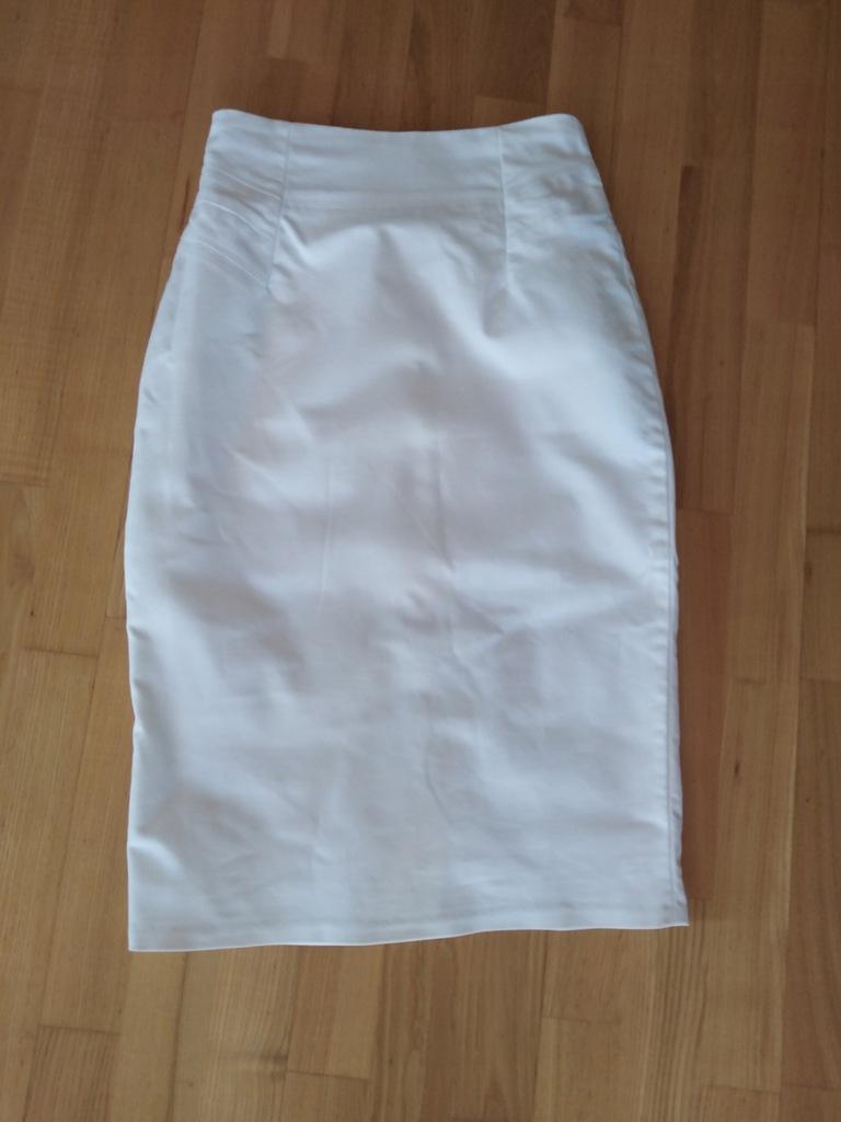 Biała spodnica Reserved 34+katana jeans Esprit