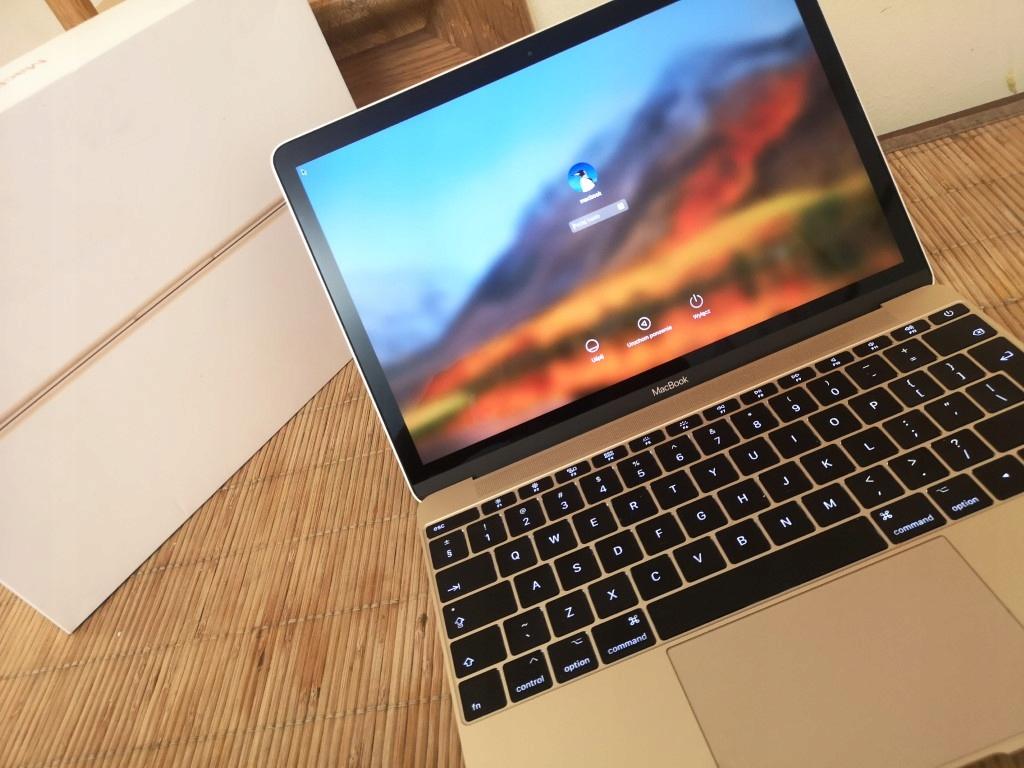 """Apple Macbook 12"""" z 2017 - 51 cykli ładowania"""