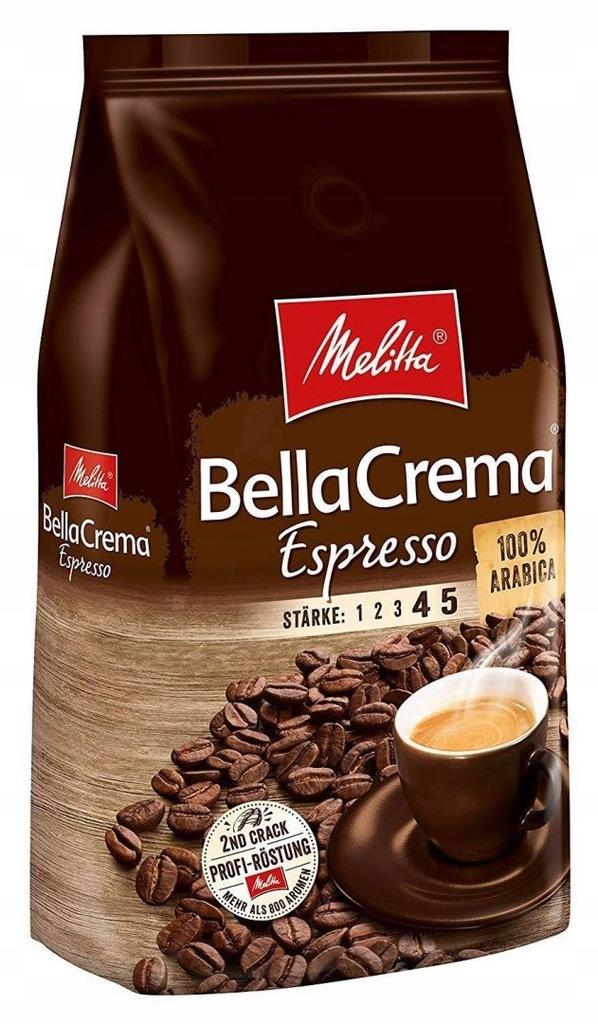 Melitta Bella Crema Espresso 1kg kawa ziarnista