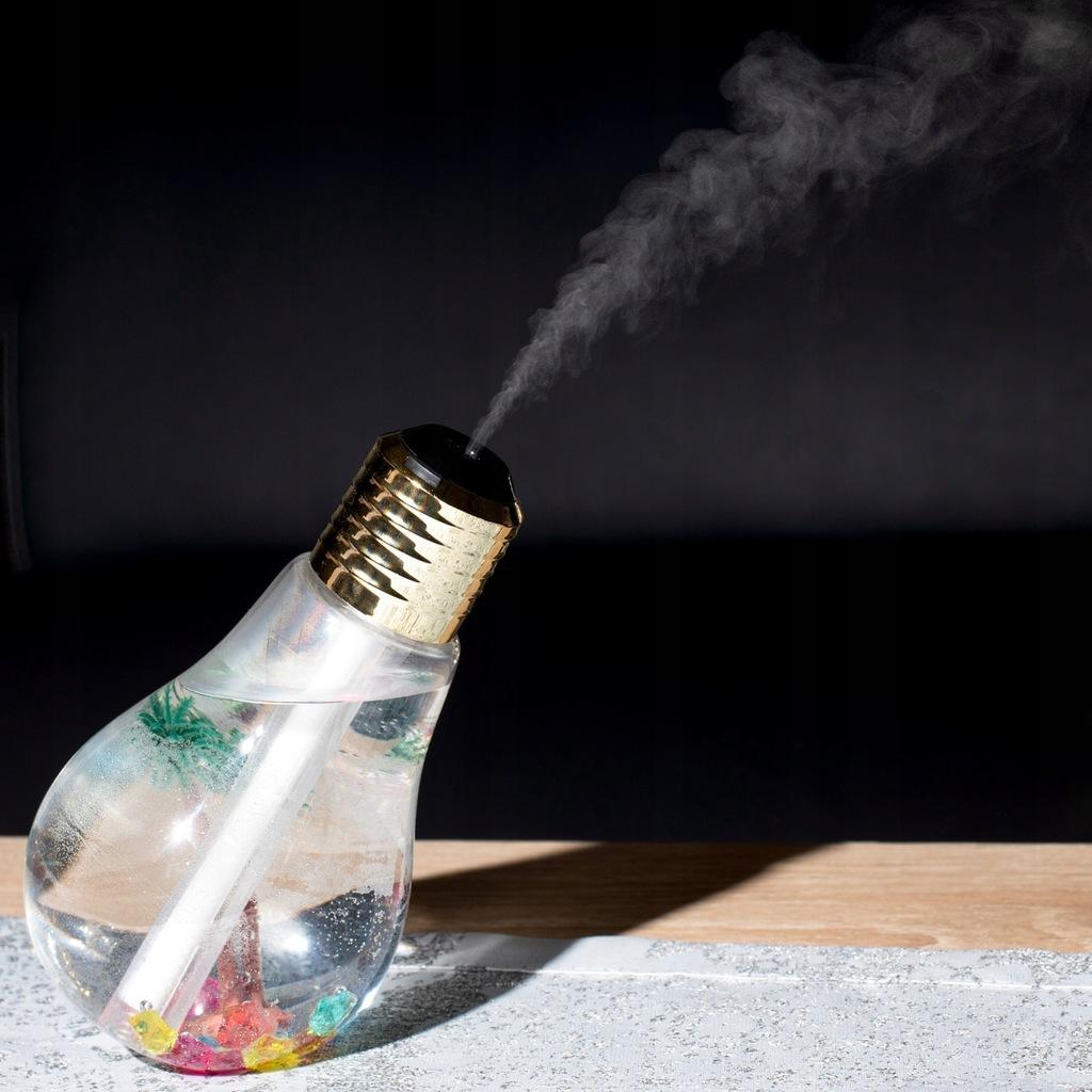 Nawilżacz powietrza żarówka LED USB