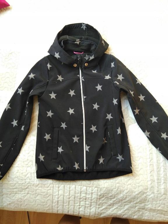 H&M kurtka Softshell dla dziewczynki r 146/152