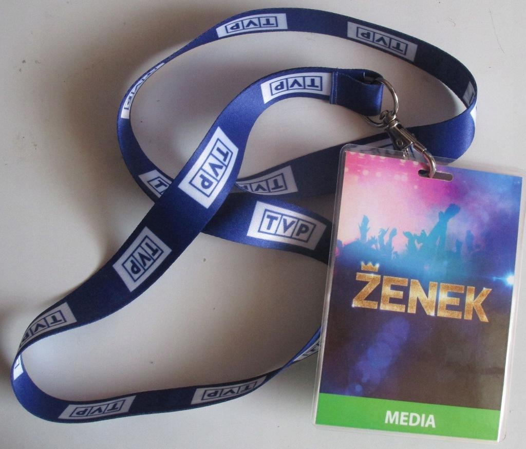 film ZENEK plakietka+ smycz TVP(Martyniuk)