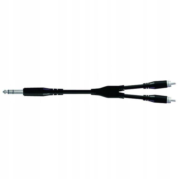 BULK550LU18 Kabel stereo jack-2X RCA 1,8m Proel