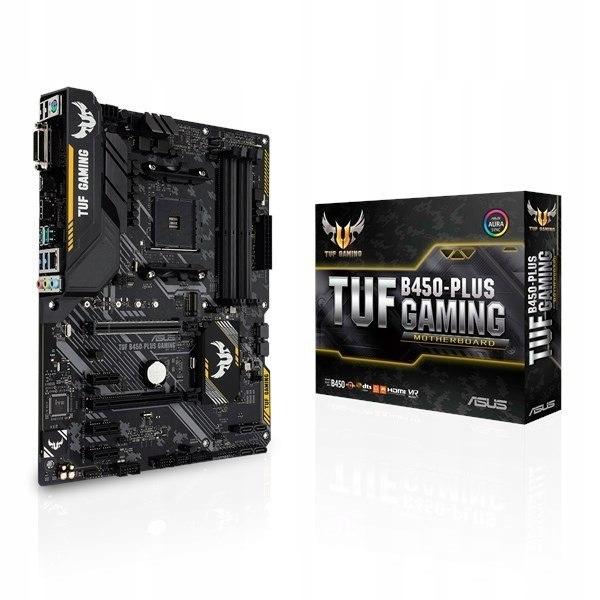 Płyta główna TUF B450-PLUS GAMING AM4 4DDR4 DVI/HD