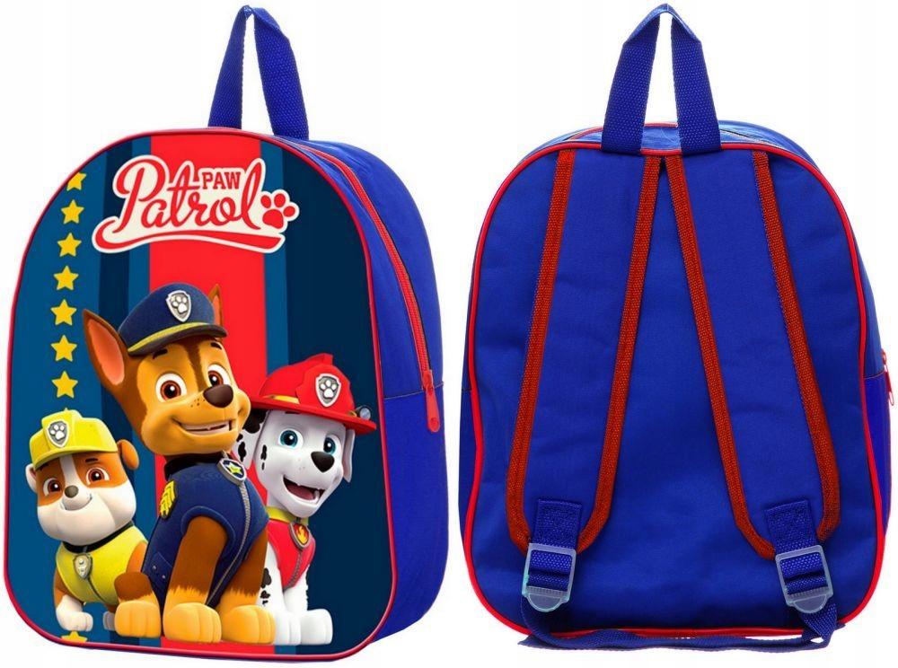 Plecak Psi Patrol GranatCzerwony Plecaczek dla