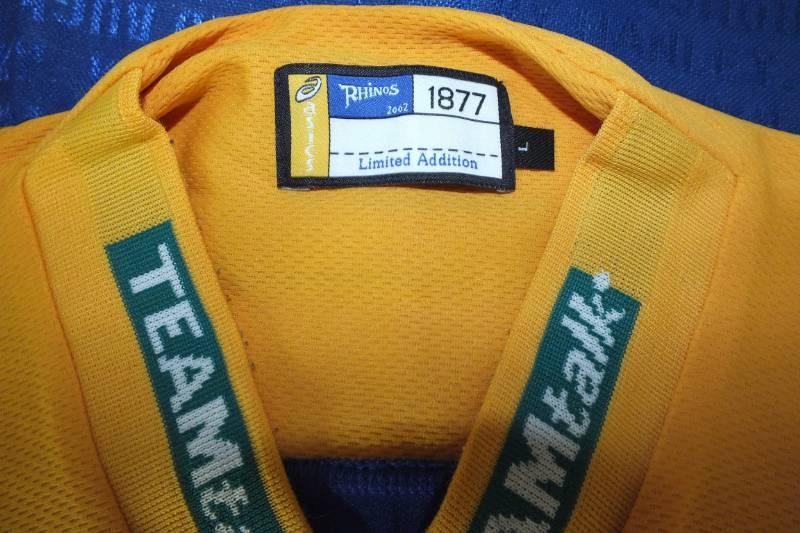 Asics Leeds Rhinos koszulka męska L rugby 2002