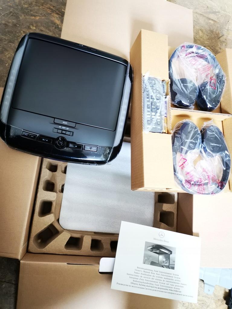 ALPINE PKG-2100P MONITOR PODSUFITOWY Z DVD nowy