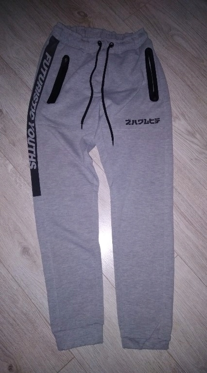 cropp regular fit spodnie S