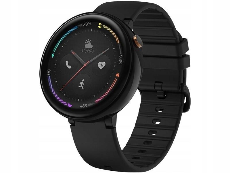 Czarny Smartwatch AMAZFIT Nexo GPS WiFi eSIM