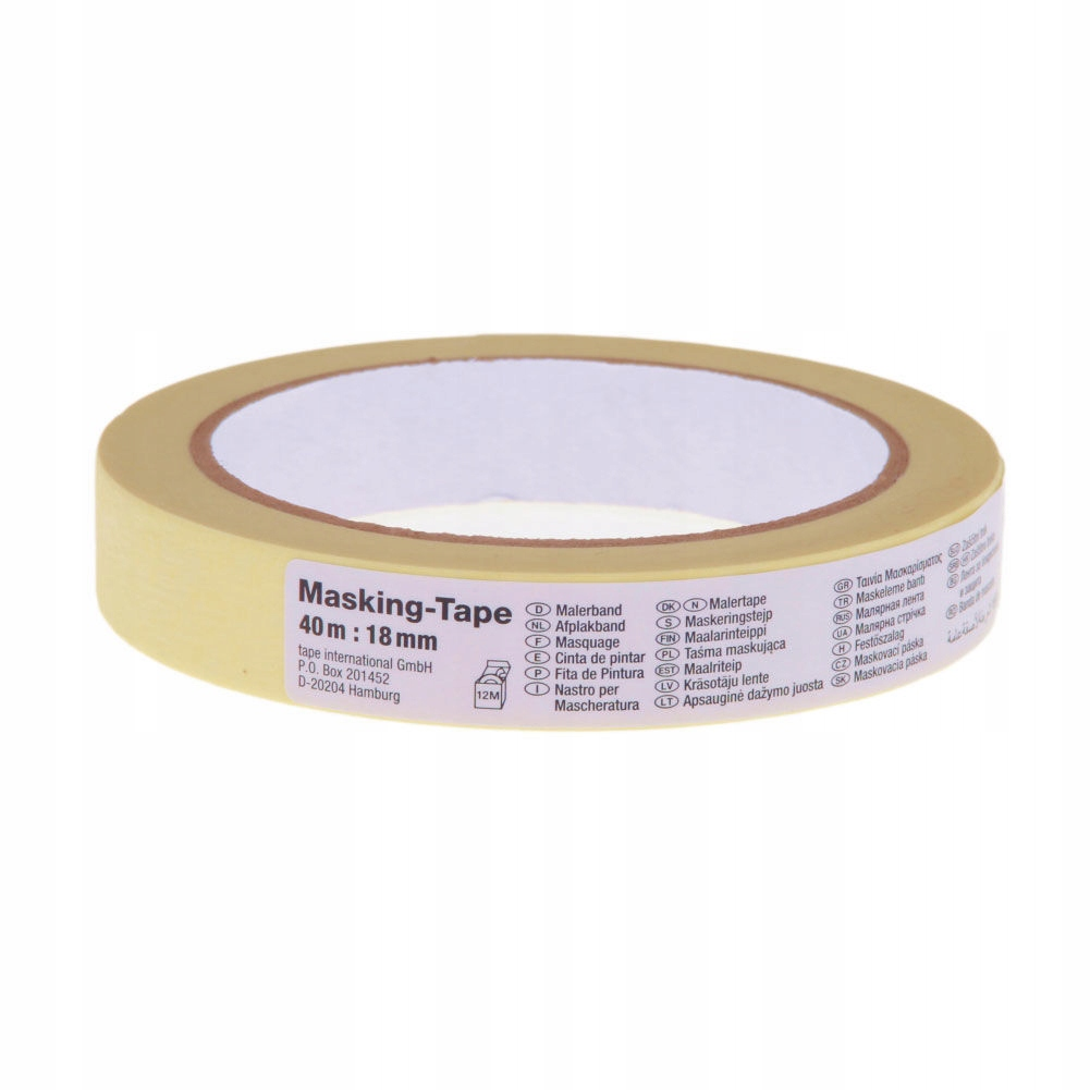 Taśma maskująca papierowa do wnętrz 40m:25mm (h083