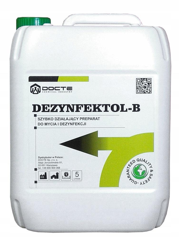 Dezynfektol B, Płyn do dezynfekcji powierzchni, 5L